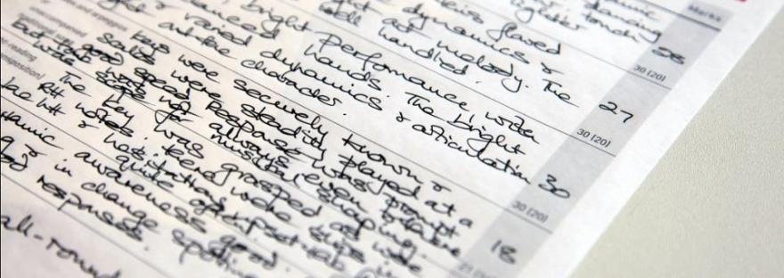 Exam mark sheets: help or hindrance? – A Piano Teacher Writes…